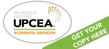 UPCEA Hallmarks of Excellence in Credential Innovation